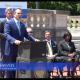 Kentucky Gov Matt Bevin announcing work gains