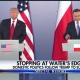 Trump at Polish press conference