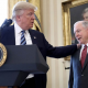Trump praising Sessions