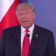 Trump statement at press conf in Poland