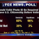 Voter ID-Fox Poll