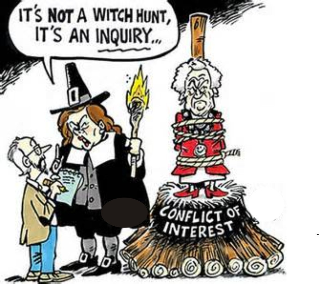WITCH HUNT!  7/23/17
