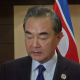 China's foreign minister Wang Yi