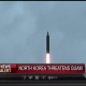North Korea - missile shot down in test