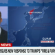 North Korea to Guam map