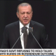 Erdogan commenting on Iraqi Kurdish independence vote