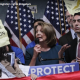 Pelosi confronted by immigrant protestors