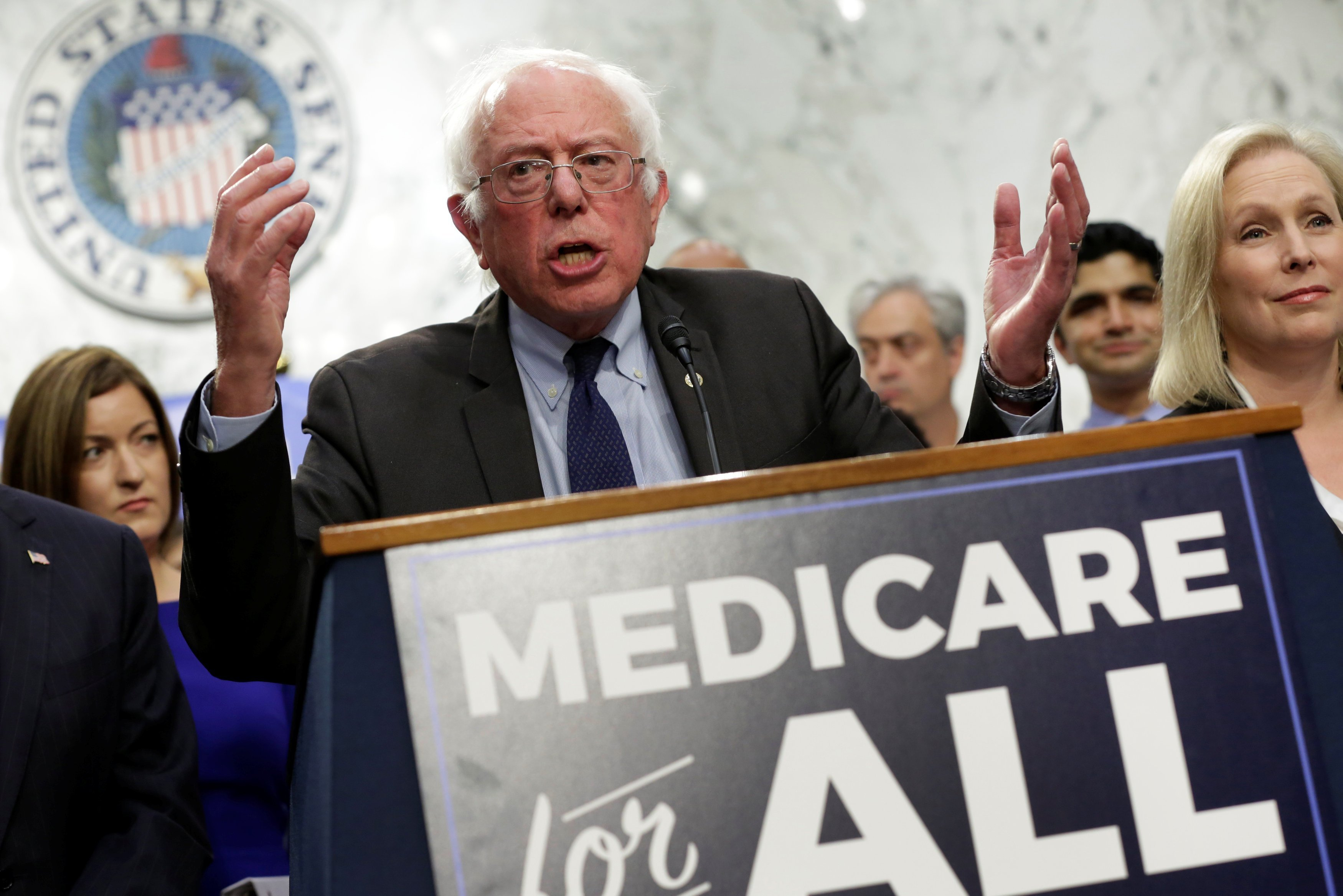Sanders- Medicare for all