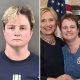 Sarah Roark arrested as antiFA protestor in Berkeley with Hillary