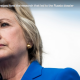 Hillary Clinton with ascance view