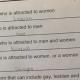 Sexual identity quiz at Georgia middle school