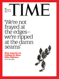 Military- frayed at the seams-TIME Cover