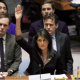 NIkki Haley voting at UN