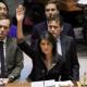 NIkki Haley voting at UN
