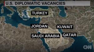 State dept - diplomatic vacancies