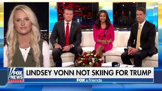Tomi Lahren reacts after Lindsey Vonn slams Trump  12/9/17