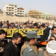 Afghanistan - burying the dead from terror attack
