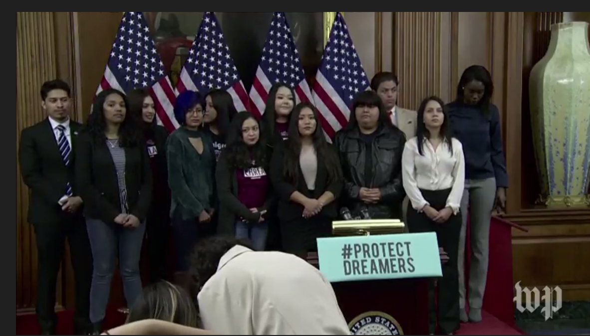 Do Democrats really care about Dreamers?  1/18/18
