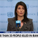 Nikki Haley speaks about Iranian protests