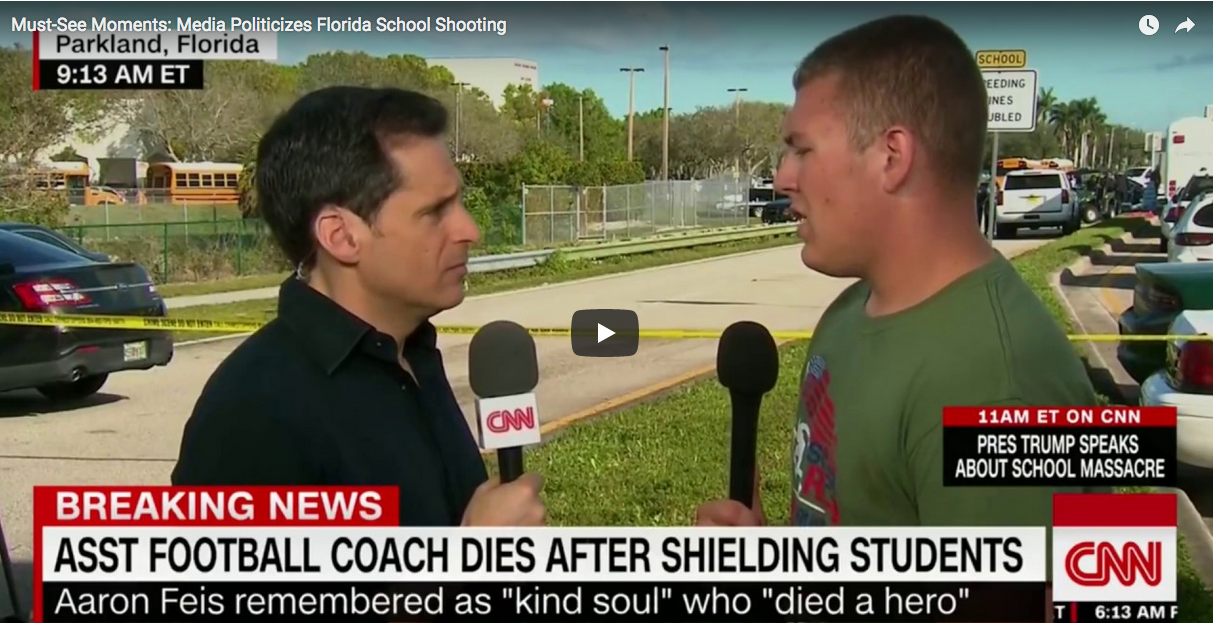 Must-See Moments: #9 Media Politicizes Florida School Shooting  2/17/18