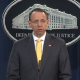 Rod Rosenstein making announcement of indictments