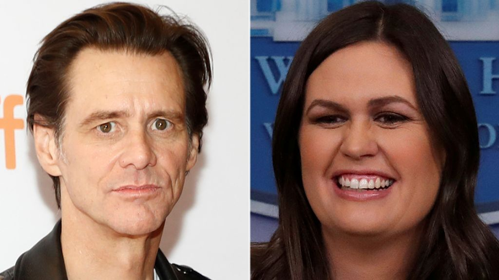 Jim Carrey slammed for 'disgraceful,' garish portrait of Sarah Sanders  3/18/18