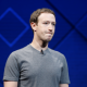 Mark Zuckerberg with grimace