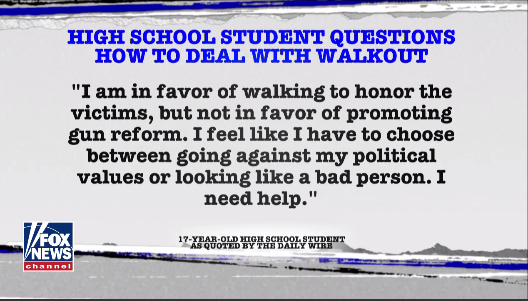 Shapiro on students who disagree with calls for gun reform  3/14/18