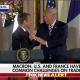 Trump-Macron handshake -Fox