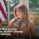 Melania unveils be best-MSNBC