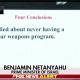 Netanyahu Iran conclusions