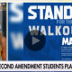 Second amendment Pro Students walkout