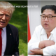 Trump & Jung Un in white shirt