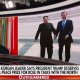 Trump, Kim Jong UN & Jae-In