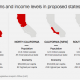California-3 states by population