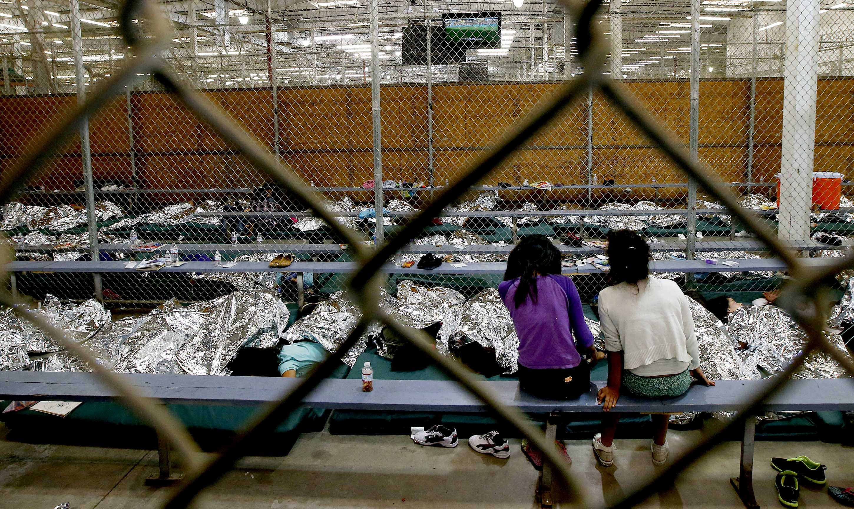 Here Are The Photos Of Obama's Illegal Immigrant Detention Facilities The Media Won't Show You  6/20/18