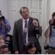 Playoy reporter attacks sarah sanders at press conf