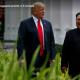 Trump & Kim stroll during summit