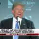 Trump speaking on separated kids at border