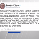 Trump tweet to Iran Rouhani 072218