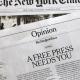 Media assault on Trump-NYT