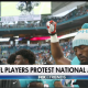 NFL Players kneel & protest 080918