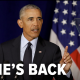 Barack Obama Speaking- he's back