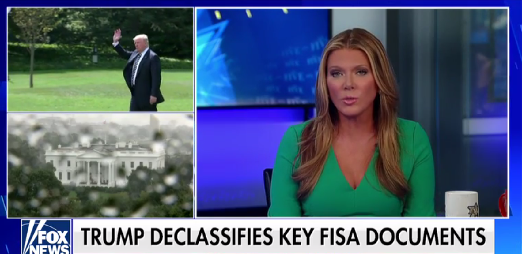Trump orders feds to declassify key FISA documents, text messages in FBI Russia probe  9/19/18