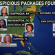 Bomb targets map
