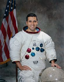 Dr. Harrison Schmitt is a geologist who walked on the moon during Apollo 17