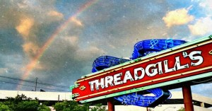 Threadgills sign