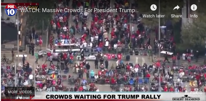 What the media doesn't tell you about rallies  10/22/18