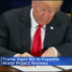 Trump signing executive order to expedite water projects