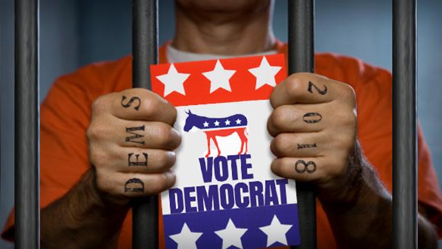 Why Do Felons Vote Democrat?  11/5/18